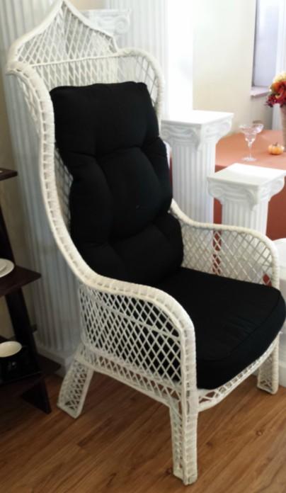 Genial White King U0026 Queen Chairs