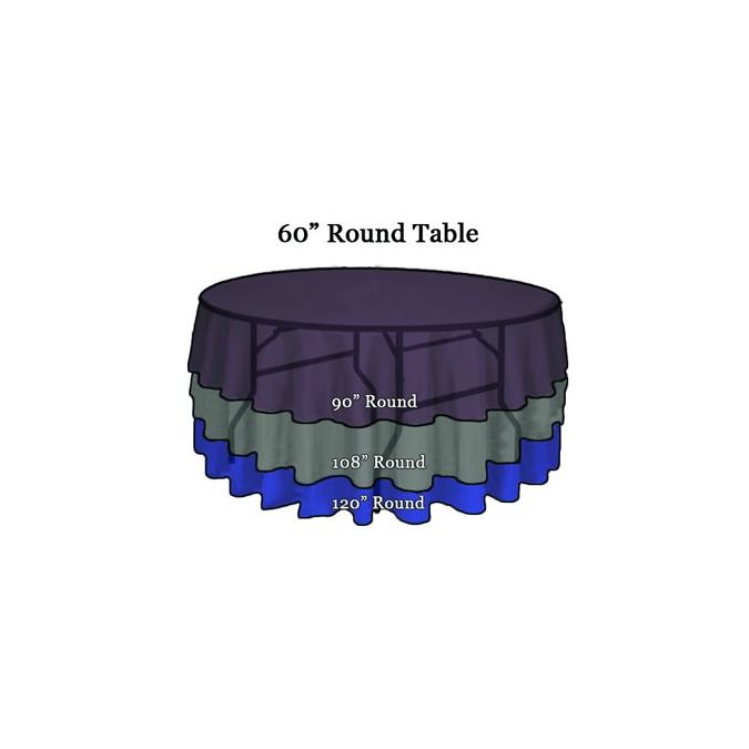 Linen Tablecloth 90u201d Round