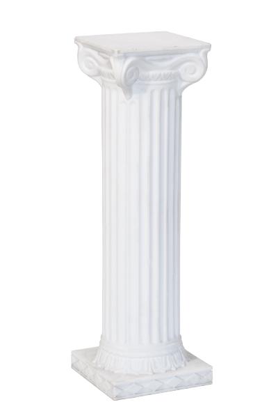 White Columns 30 Art Pancake Party Amp Wedding Rental